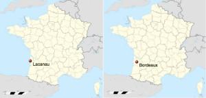 Francia. Bordeaux e Lacanau