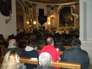 In Chiesa dopo la processione