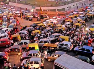 India traffico