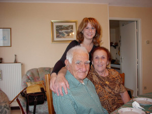 Papà Costantino in famiglia