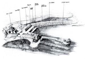 Ponza Porto Progetto. O. Fasolo
