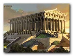 tempio-di-artemide ricostruzione