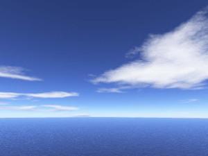 vista dell'orizzonte in direzione di mezzogiorno