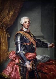 A. R. Mengs- Ritratto di Carlo di Spagna- Madrid, Museo del Prado