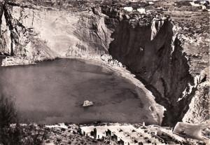 Chiaia di Luna dall'alto. 1960