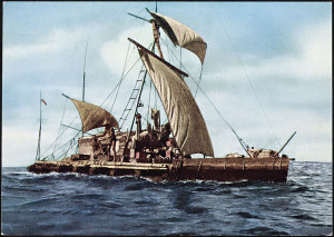 Expedition Kon Tiki 1947. Expedition across_the_Pacific