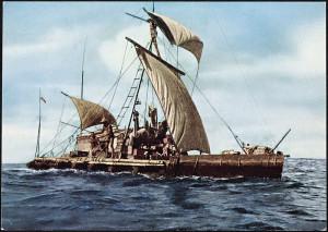 Expedition Kon Tiki 1947. Expedition across_the_Pacific