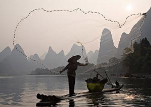 Guilin.2. Pesca rete e cormor. copia 2
