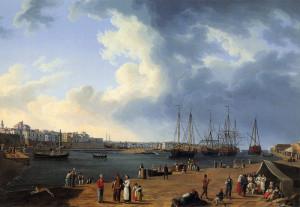 Il Porto di Bisceglie 1790