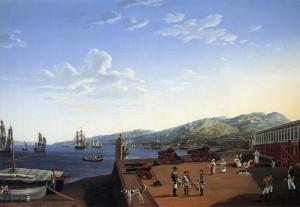 Il Porto di Reggio Calabria 1791