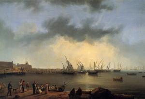 Il porto ed il castello di Manfredonia 1790
