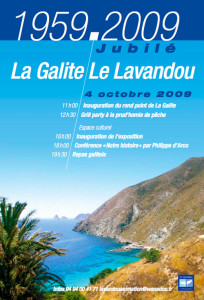 La Galite-Le Lavandou. Affiche copia