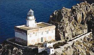 L'edificio del Faro della Guardia