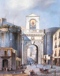 Napoli. Porta Capuana