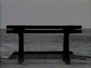Panchina davanti al mare