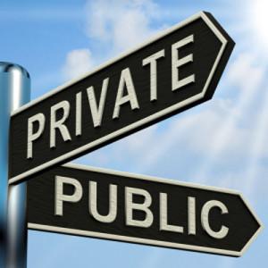 Public. Private