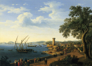 Veduta del Golfo di Gaeta del 1790