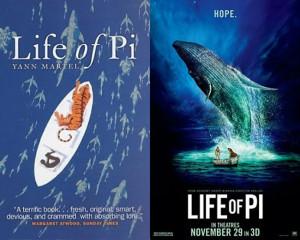 Vita di Pi. Libro Film