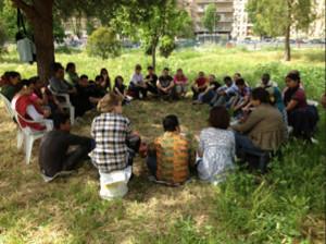 Asinitas. Centro interculturale per migranti. Uscite all'aperto