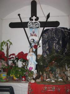 Croce Punta Incenso. Interno