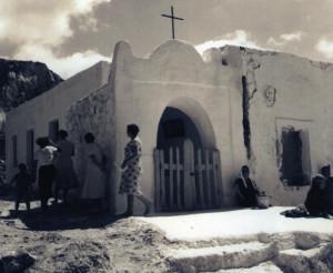 Croce Punta incenso. Antica foto Archivio Giovanni Pacifico