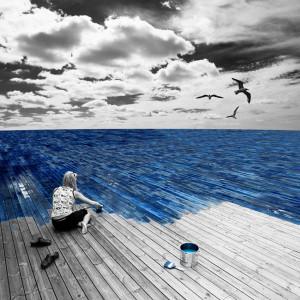 Dipingere il mare