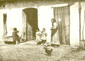 Foto contadina metà ottocento
