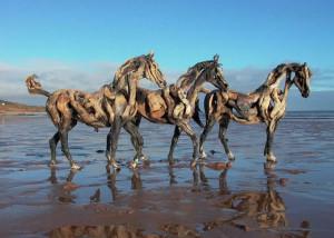 Heather Jansch Tre cavalli