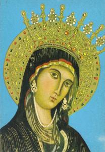 La Madonna di Montevergine. Part.