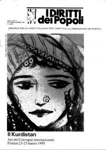 Lega italiana Diritti dei Popoli. Sett.-Dic. 1990