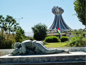 Monument_in_memory_of_chemical_weapons_attack. Halabja 1988
