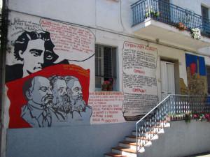 Orgosolo_murales. Compagni