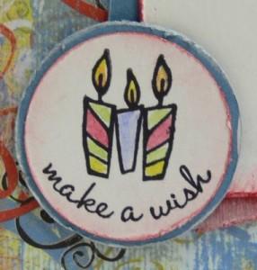 Tre candeline. Make a wish