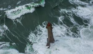 Un'onda tra i 20 e i 30 m d'altezza