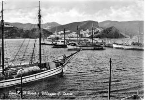 bastimenti nel porto di ponza