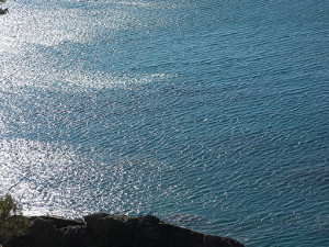 brillante Mar Mediterraneo