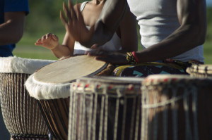 Afro percussions