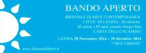 Biennale di Latina 2014