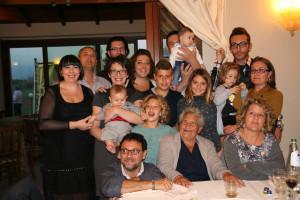Nonna Veruccella con i suoi nipoti