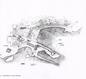 Planimetria di rilievo del Porto