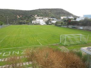 Ponza. Campo sportivo