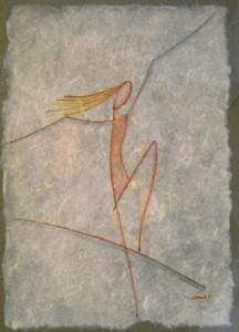 Giampiero Fantigrossi - Adolescente- inchiostro su carta