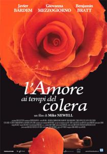 Locandina film L'amore ai tempi del colera