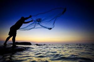 Pescatore sciabica