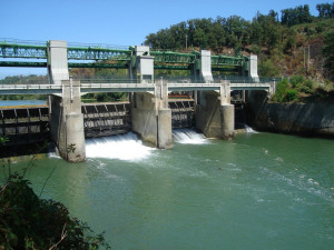Suio. Diga sul fiume Garigliano
