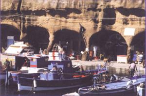 Ventotene. Antico porto romano