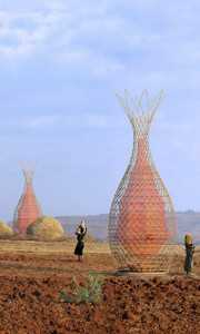 Warka water structure