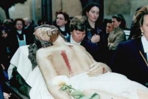 cristo morto processione del venerdì santo
