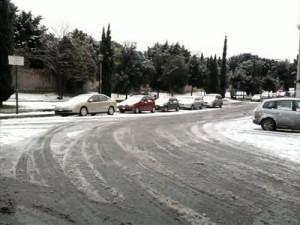 1. Neve a Roma. 12.2.2010