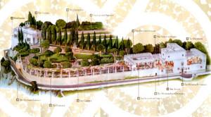4. Mappa villa